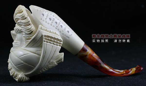 木雕艺术烟斗图片